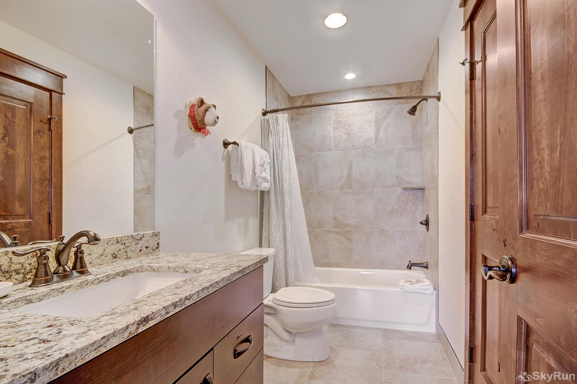 47 River Run Townhomes Guest Bathroom
